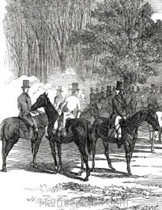 Detail: Her Majesty's Buckhounds, at Salt Hill