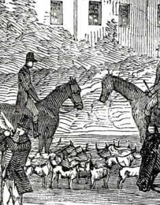 "Detail"" Her Majesty's Buckhounds at Salt Hill"