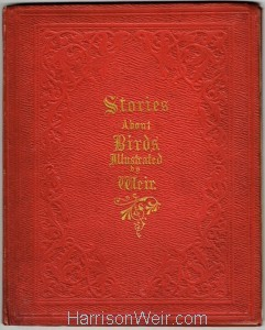 1854 Book Cover, Stories About Birds
