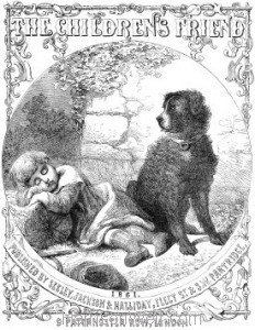 Title Page: The Children's Friend 1861 (Vol 1)