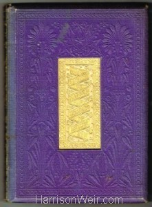 1861 The Poetry of Nature - Book Cover