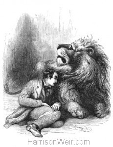 1862 Danco and his Keeper, by Harrison Weir