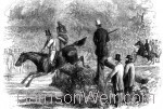 1863 Calder Vale Agricultural Assoc. Judging Hunters. By Harrison Weir