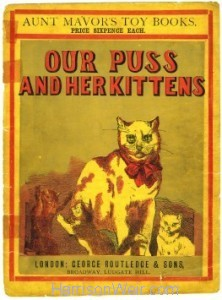 Boolet Cover: Our Puss and Her Kittens by Harrison Weir