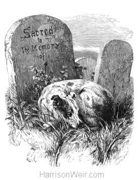 1866 A Faithful Mourner