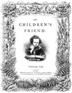 Detail: Title Page - The Children's Friend 1868