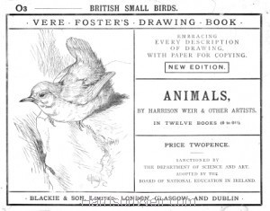 Detail: Booklet Cover O3 British Small Birds