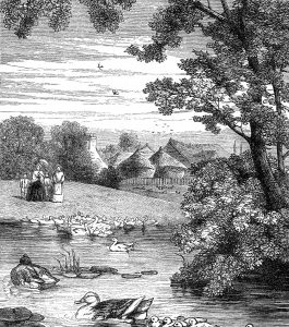 1871 The Duck Pond