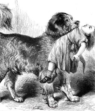 1878 A Brave Dog by Harrison Weir