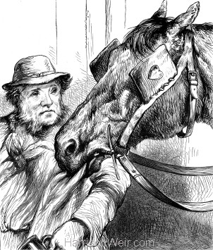 1878 Old Jack and his Master, by Harrison Weir