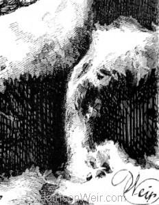 Detail: Shut out, by Harrison Weir