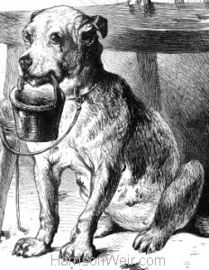 Detail: The Blind Man's Dog, by Harrison Weir