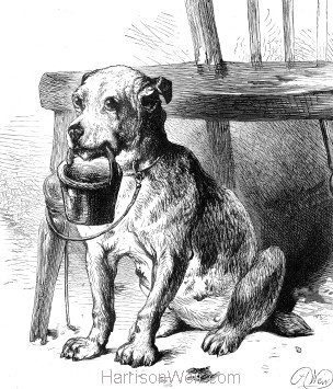 1878 The Blind Man's Dog, by Harrison Weir