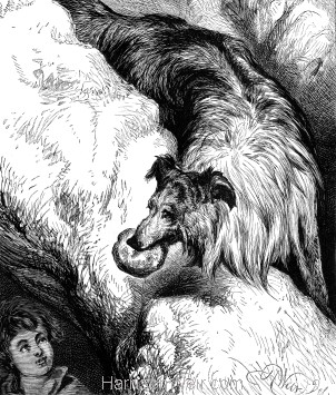 1878 The Shepherd's Dog and the lost boy, by Harrison Weir