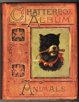 Book Ciover: Chatterbox Album of Animals 1878