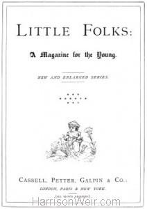 Title Page: Little Folks 1880