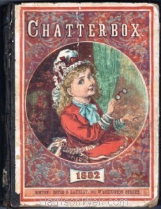 Detail: Book Cover, Chatterbox 1882