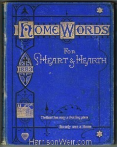 Book Cover: Home Words for Heart and Hearth 1883