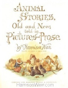 Detail: Title Page: Animal Stories Old and New in Pictures & Prose