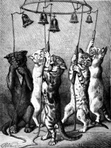 1874 The Comical Bell Ringers by Harrison Weir
