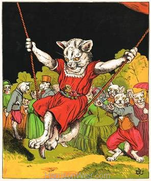 1871 The Swing by Harrison Weir