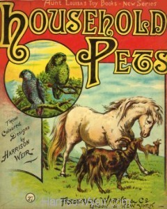 Boolet Cover: Household Pets c1872
